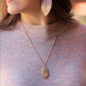 Jewelry - Druzy pendant Necklace